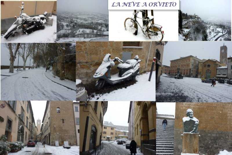 Orvieto neve collage